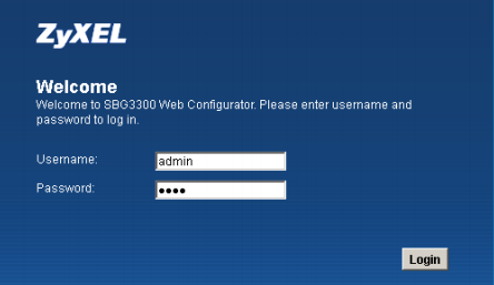 How To Setup A Zyxel SBG 3300N Router