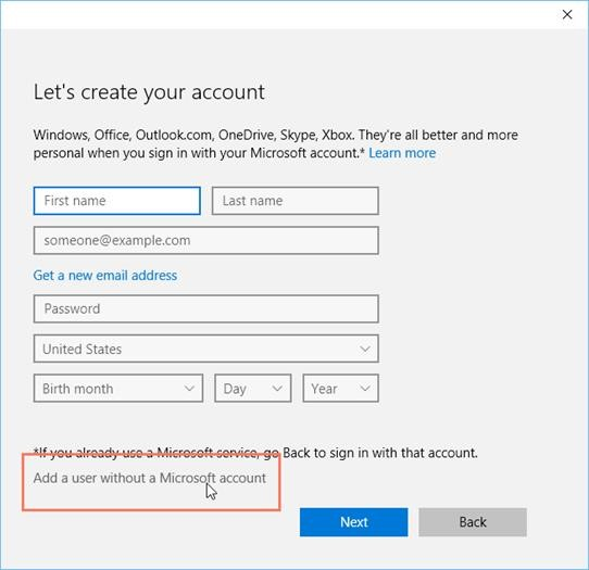 How To Add A New Local User To Your Computer (Windows 10